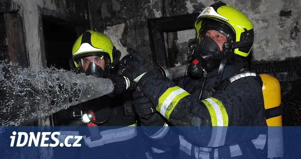 V Babicích hořela mrazicí hala firmy Hamé, škody půjdou do milionů