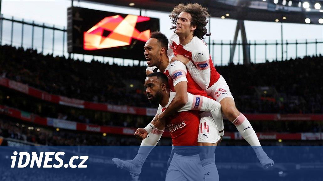 Evropská liga: Arsenal zdolal Valencii, Chelsea remizovala ve Frankfurtu