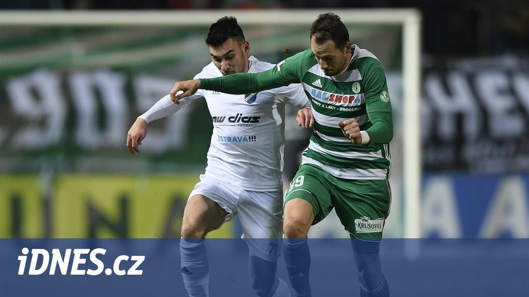 Bohemians – Baník 0:2,  góly po půli, tři body trefili Diop a Kuzmanovič