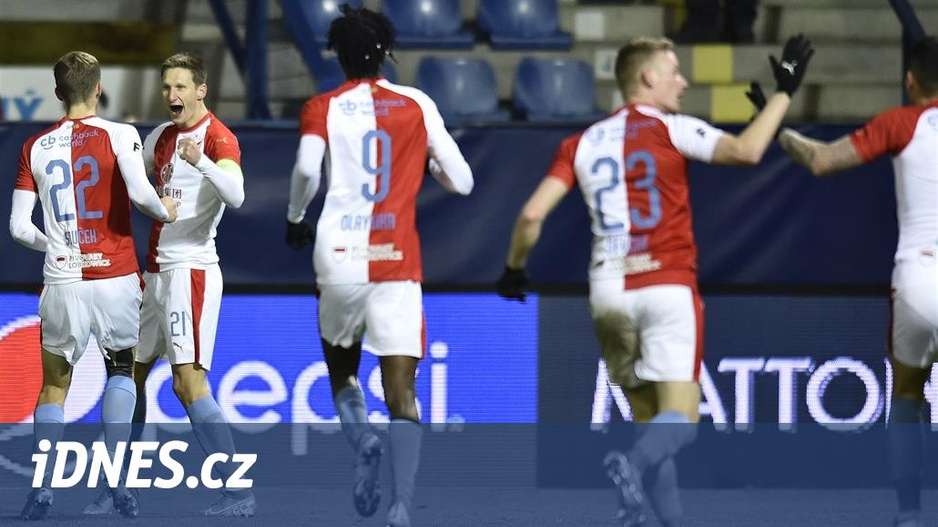 Liberec – Slavia 0:2, Škoda skóroval, pak asistoval Traorému