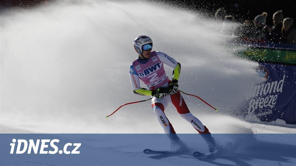 Švýcar Odermatt slaví v super-G v Beaver Creeku první výhru v SP
