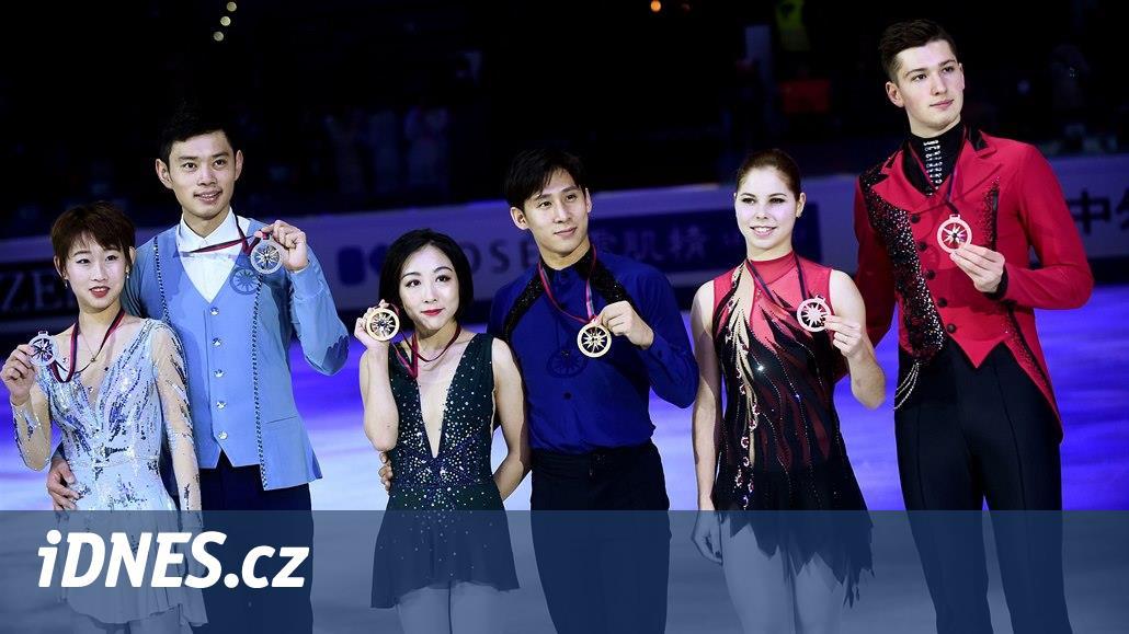 Favorizovaná čínská sportovní dvojice vyhrála finále Grand Prix