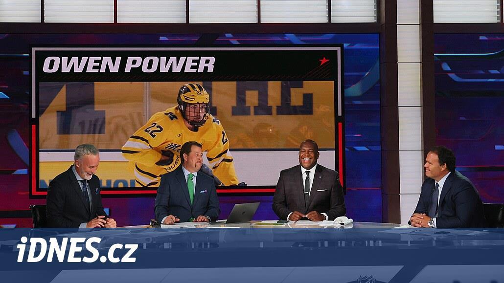 Jedničkou draftu NHL je kanadský obránce Power, patří Buffalu