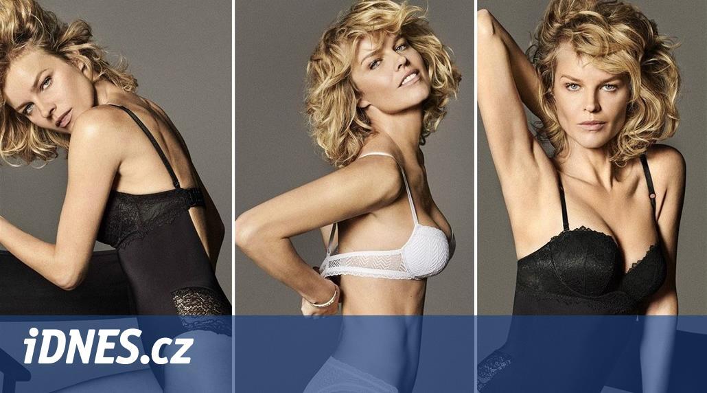 OBRAZEM  Herzigová v pětačtyřiceti nafotila kampaň na spodní prádlo -  iDNES.cz 636038b140