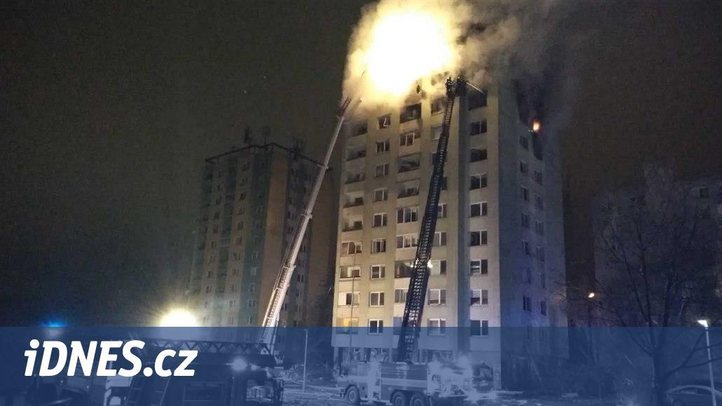 Výbuch plynu v Prešově má nejméně pět obětí, požár je uhašen