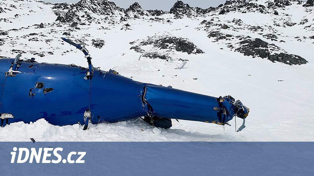 K přeletu Kellnerova vrtulníku chyběly tři metry, naznačuje vyšetřování
