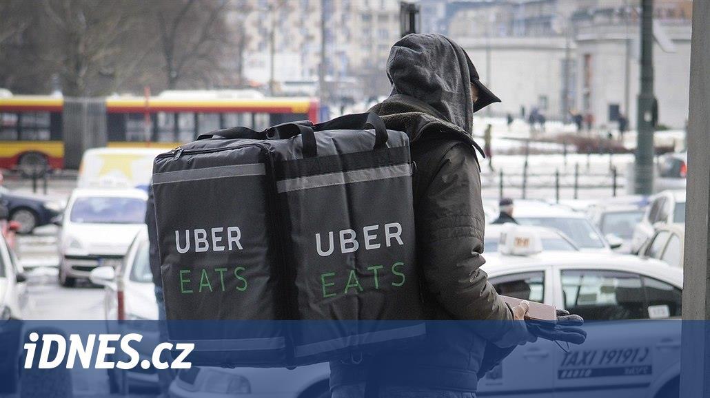 Uber chce v Praze rozvážet jídlo, uvažují o tom i Facebook nebo Amazon