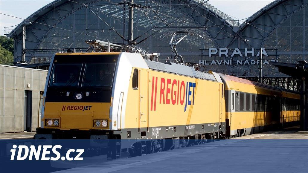 Vlaky RegioJet loni prodělaly 36 milionů, třikrát víc než předloni