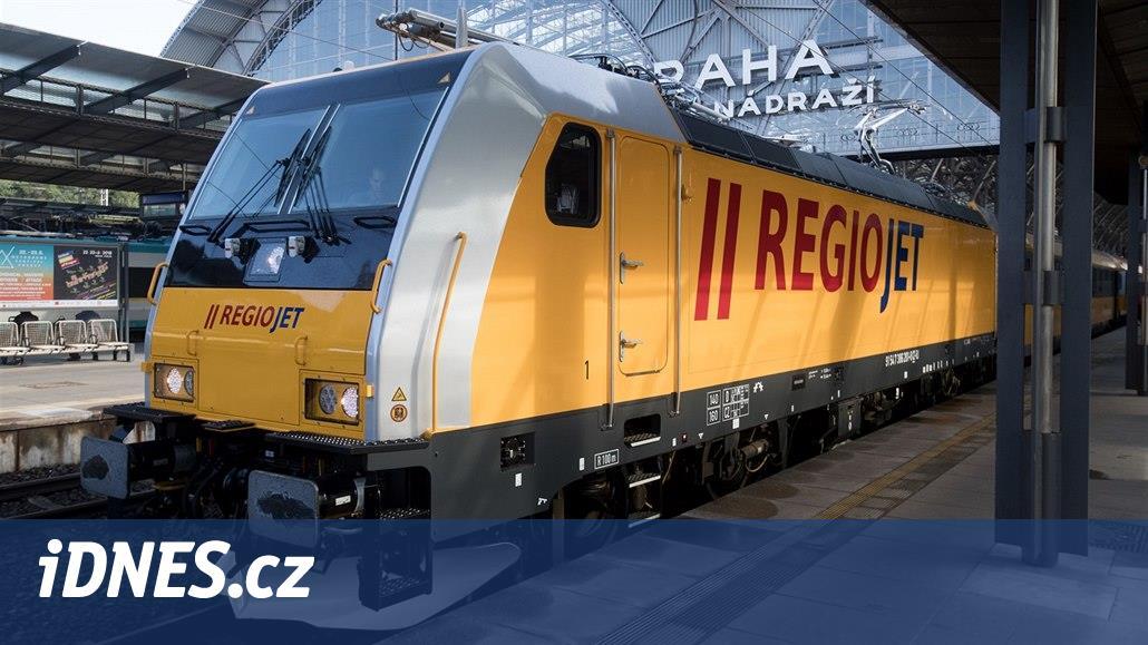 Regiojet prodal dluhopisy za 921 milionů, chce nové vlaky a levnější úvěry