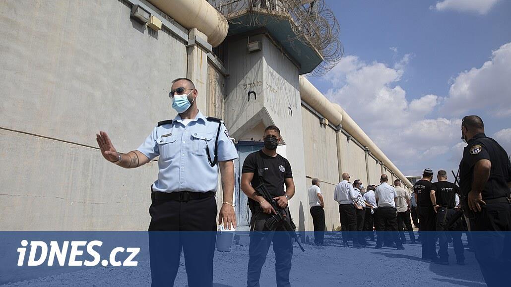 Izrael dopadl poslední dva hledané Palestince. Z vězení utekli kanalizací