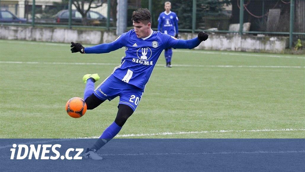 Snad se proti Lyonu ukážeme, doufá olomoucký mladík Zlatohlávek