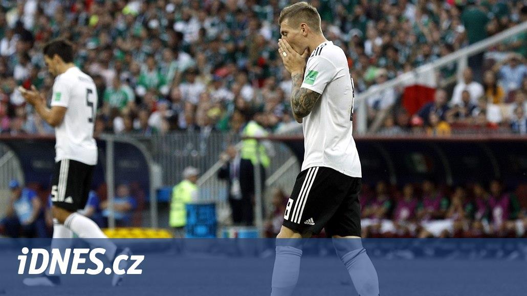 Ta kauza souvisela s německým vystoupením na nedávném mistrovství světa