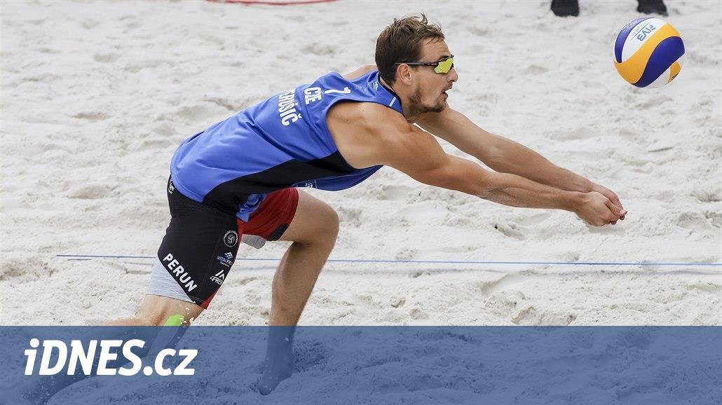 Čeští plážoví volejbalisté zahájili mistrovství Evropy porážkami