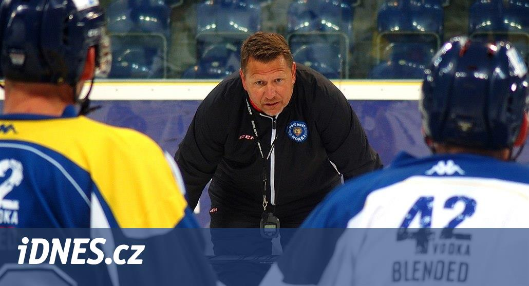 Čaloun po bídné sérii odstoupil, hokejisty Ústí zatím povede Machulda