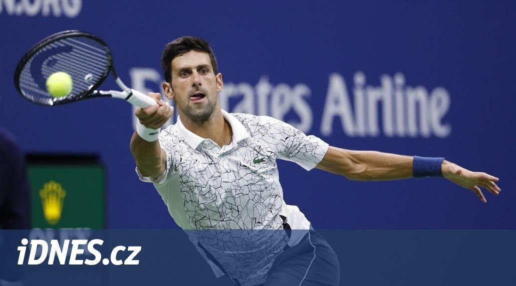 ONLINE: US Open vrcholí. Djokovič a del Potro hrají finále dvouhry