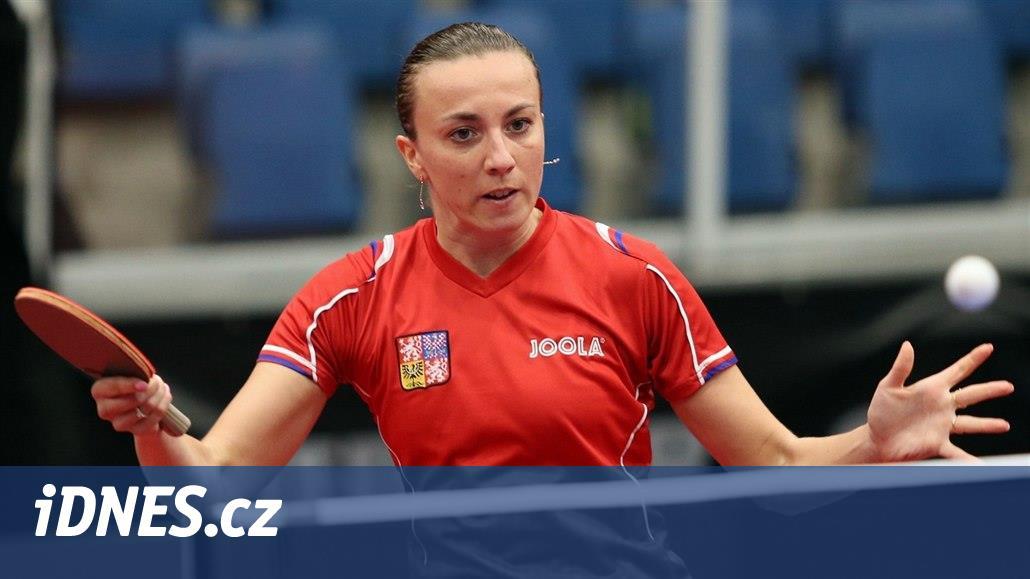 Stolní tenistka Kučerová na ME končí, vypadla v osmifinále