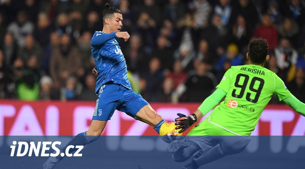Juventus se nadřel, Ronaldo skóroval v jedenáctém duelu za sebou