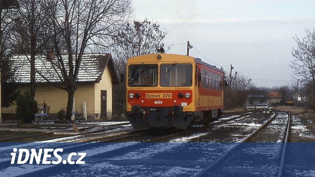 Československé motoráky obsadily v 80. letech maďarské lokálky