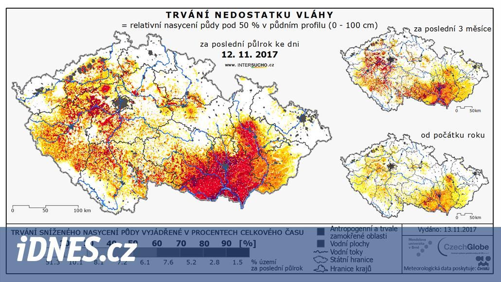 Nový web předpoví dopady sucha. Zemědělcům zmírní miliardové ztráty