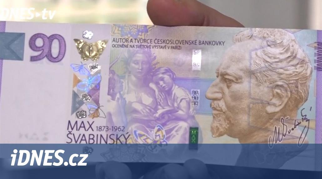 Padělaných bankovek je méně než loni, oznámila Česká národní banka