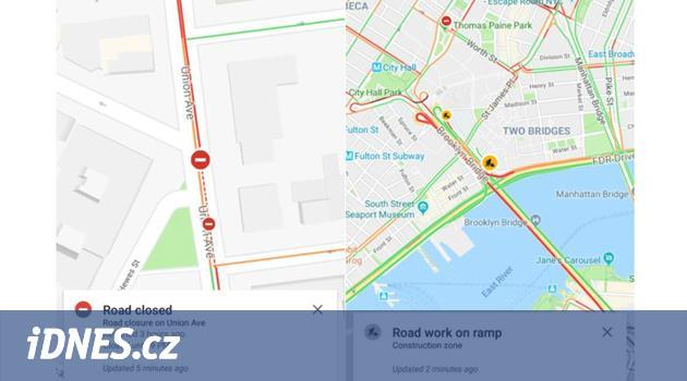 S Google mapami rychleji. Nehody a zácpy budete moct potvrdit