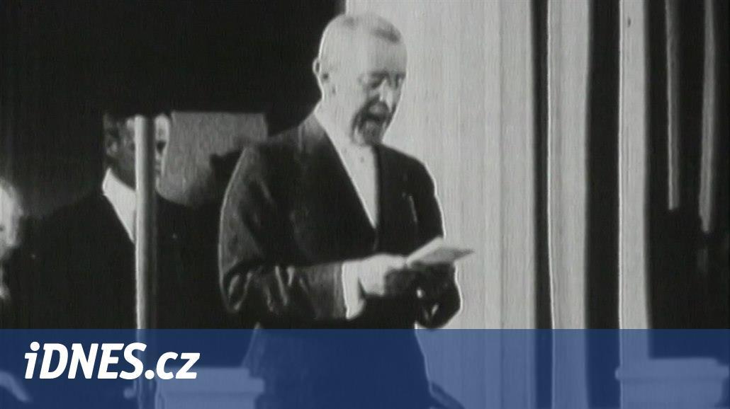 Před 100 lety Wilson poprvé mluvil o budoucnosti národů Rakouska-Uherska