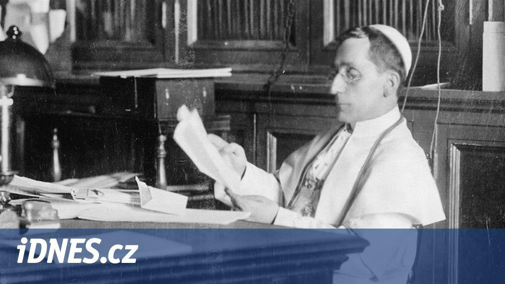 Papež Benedikt XV. volal po míru, Němci ho za to kritizovali