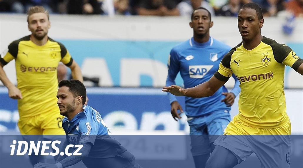 Brémy venku zvítězily, Dortmund na Hoffenheimu srovnal i v deseti