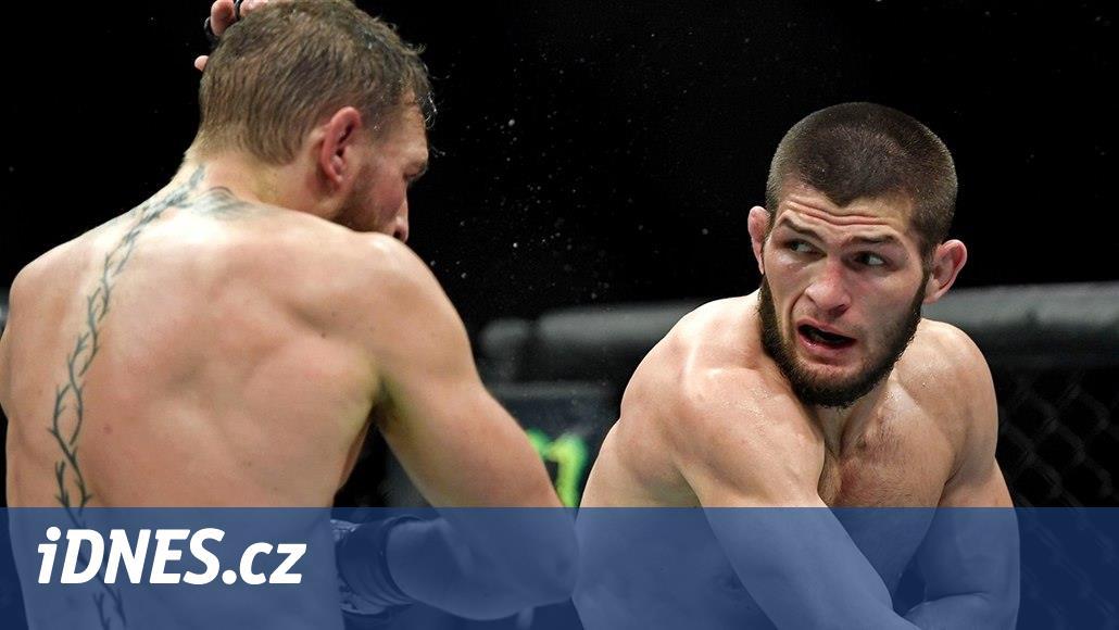 Nejdřív zlomil McGregora. Pak běsnící Rus udělal MMA světovou ostudu