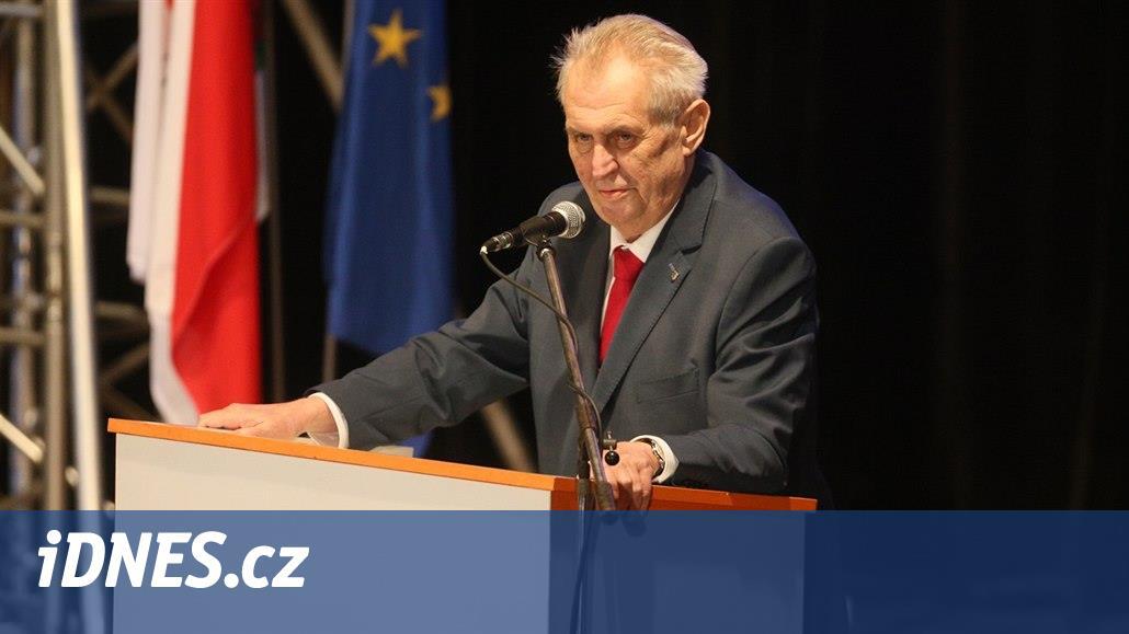 Suchá je skýva opozice a nebuďte stranou podrazáků, radil ČSSD Zeman