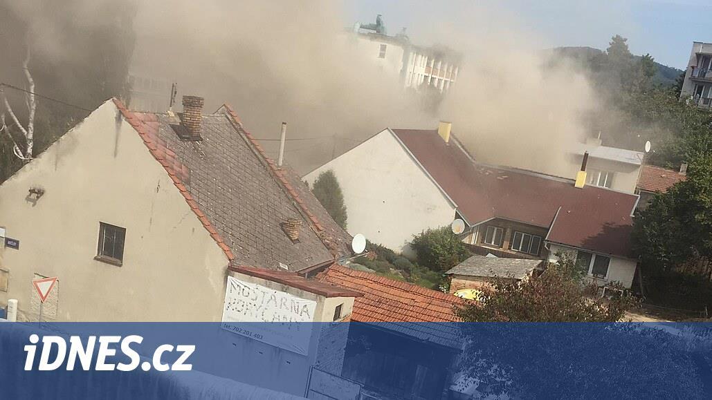 Policie potřebuje videa výbuchu v Koryčanech, žádá veřejnost o spolupráci