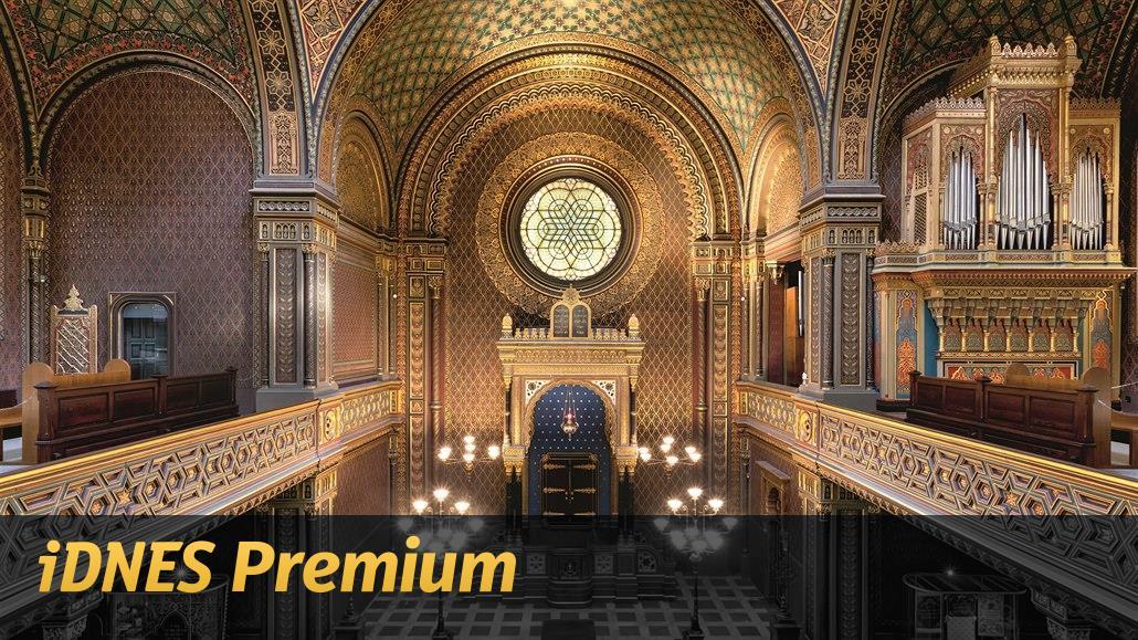Alhambra v Praze. Zrekonstruovaná Španělská synagoga čeká na návštěvníky
