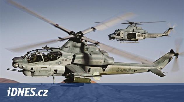 Metnar v Pentagonu podepíše smlouvu o nákupu nových vrtulníků pro armádu