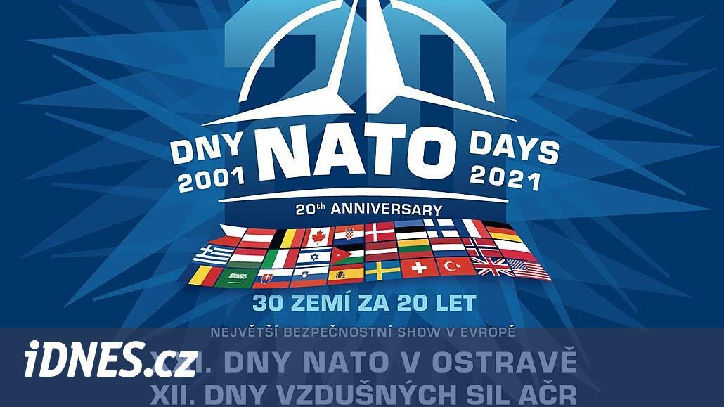 Na Dny NATO v Ostravě jen se vstupenkou. První vlna distribuce startuje