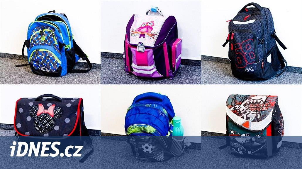 Za těžké tašky si mohou děti často samy 96190e898e