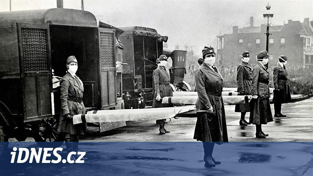Bankovky jsou semeništěm španělské chřipky, varovaly Před 100 lety noviny