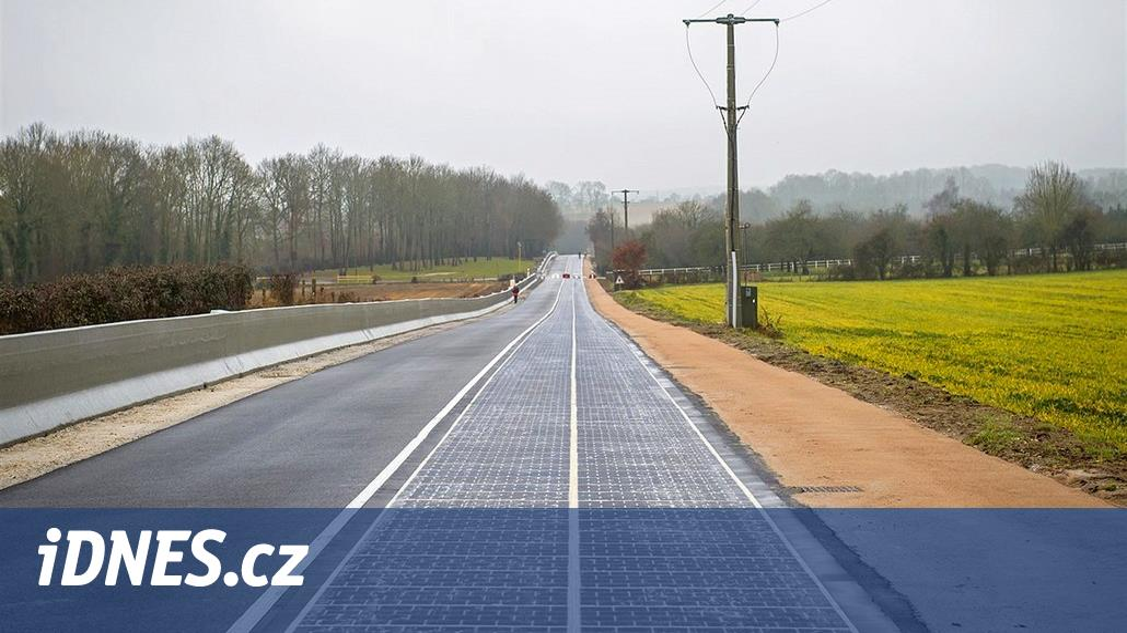 Solární fiasko. Francouzská silnice zfotovoltaických panelů se rozpadá