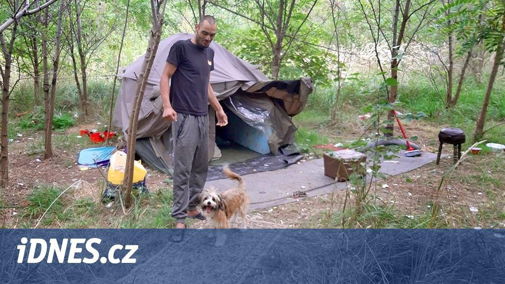 Rodina mezi bezdomovci. Čtyřletou Eriku kousl pes, teď je dívka v Klokánku