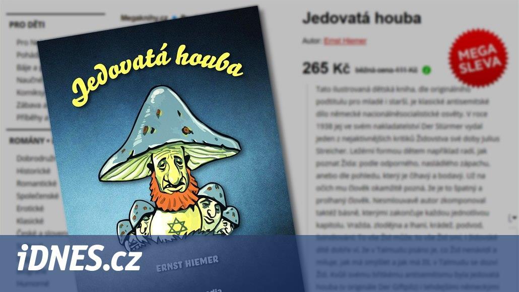Obchody nabízejí protižidovskou knihu pro děti, dílo nacistické propagandy