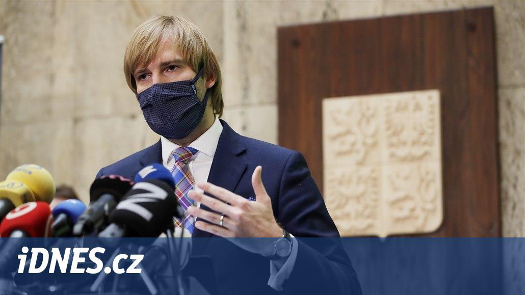 Ministr zdravotnictví Vojtěch se vyjádří k aktuální koronavirové situaci