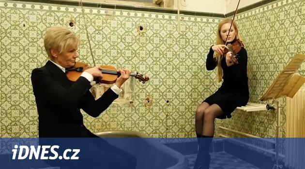 Symfonici natočili videoklip v Císařských lázních, chtějí tam sál