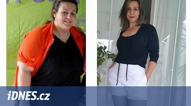 Byla závislá na cole a vážila 130 kilogramů. Za rok a půl zhubla půlku
