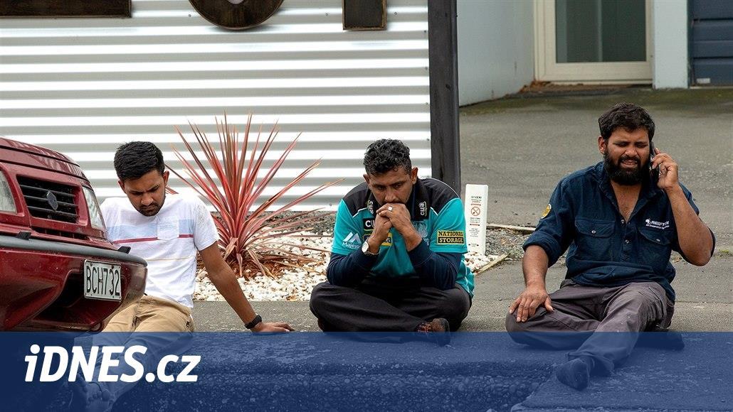 Video z útoku na mešitu je děsivé, stejně i záběry obětí a dopadení střelce