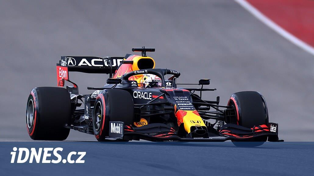 Verstappen ovládl kvalifikaci Velké ceny USA F1, série Mercedesu skončila