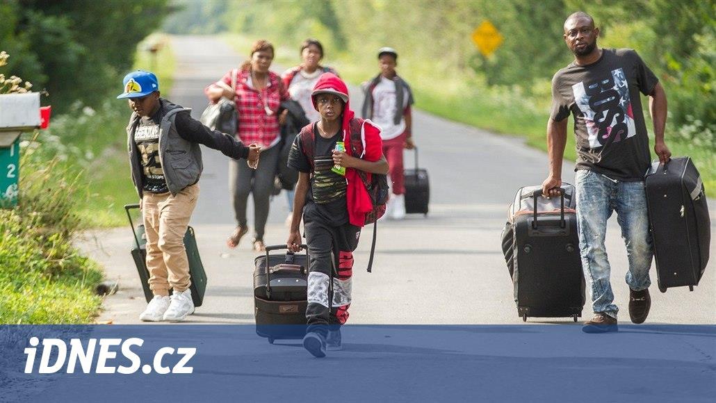 Kanada chce zabránit nelegální migraci. Pomoc hledá ve Spojených státech