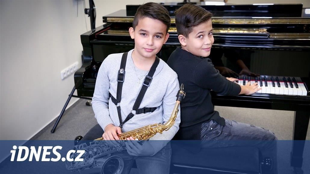 Nadané desetileté chlapce z Budějovic pozvali do americké soutěže talentů