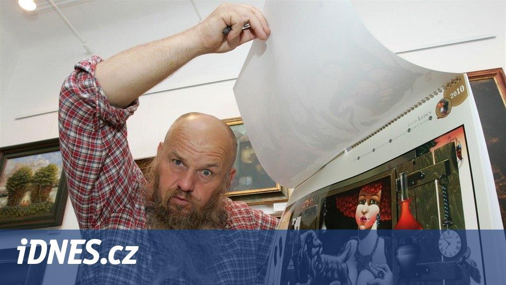 Zemřel malíř Libor Vojkůvka. Proslavil se i díky cestování