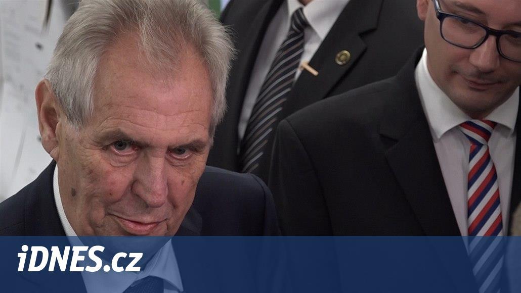 Zeman: Varuji ČSSD před tím, aby se rozštěpila. Senát má vést Kubera