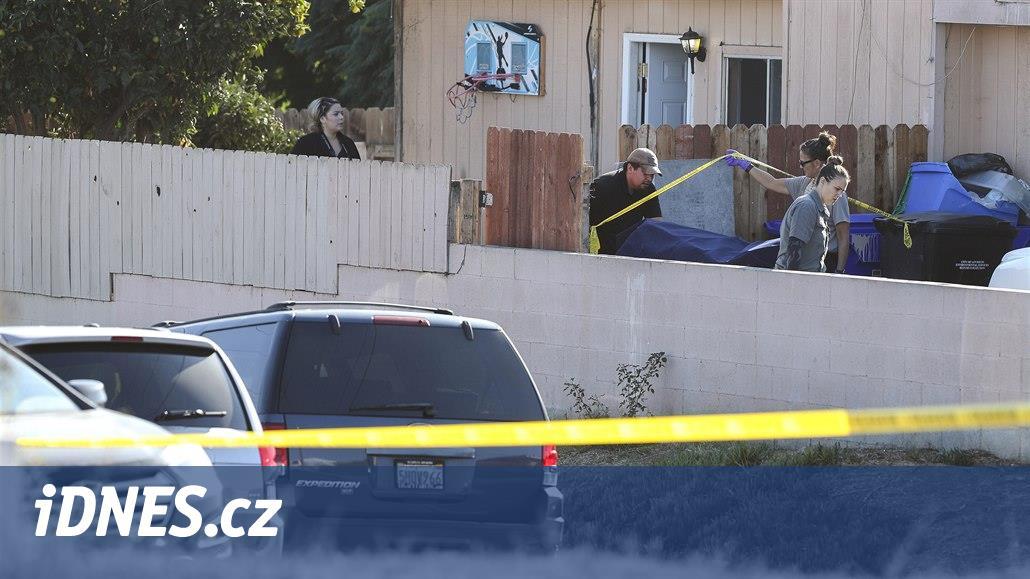 Muž v americkém San Diegu postřílel svou rodinu, na závěr zabil i sebe