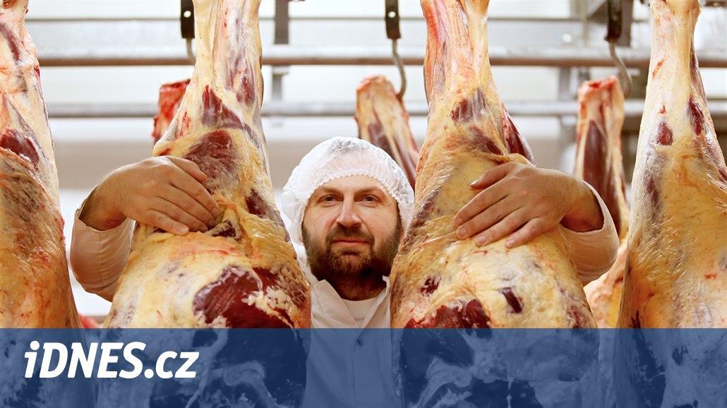 Je důležité, jak se zemědělec ke zvířeti chová už za života, říká řezník